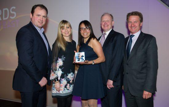 Interactive Space Team Receiving the BCO Award