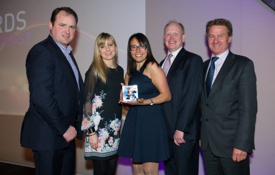 Interactive Space Team at the BCO Awards Image