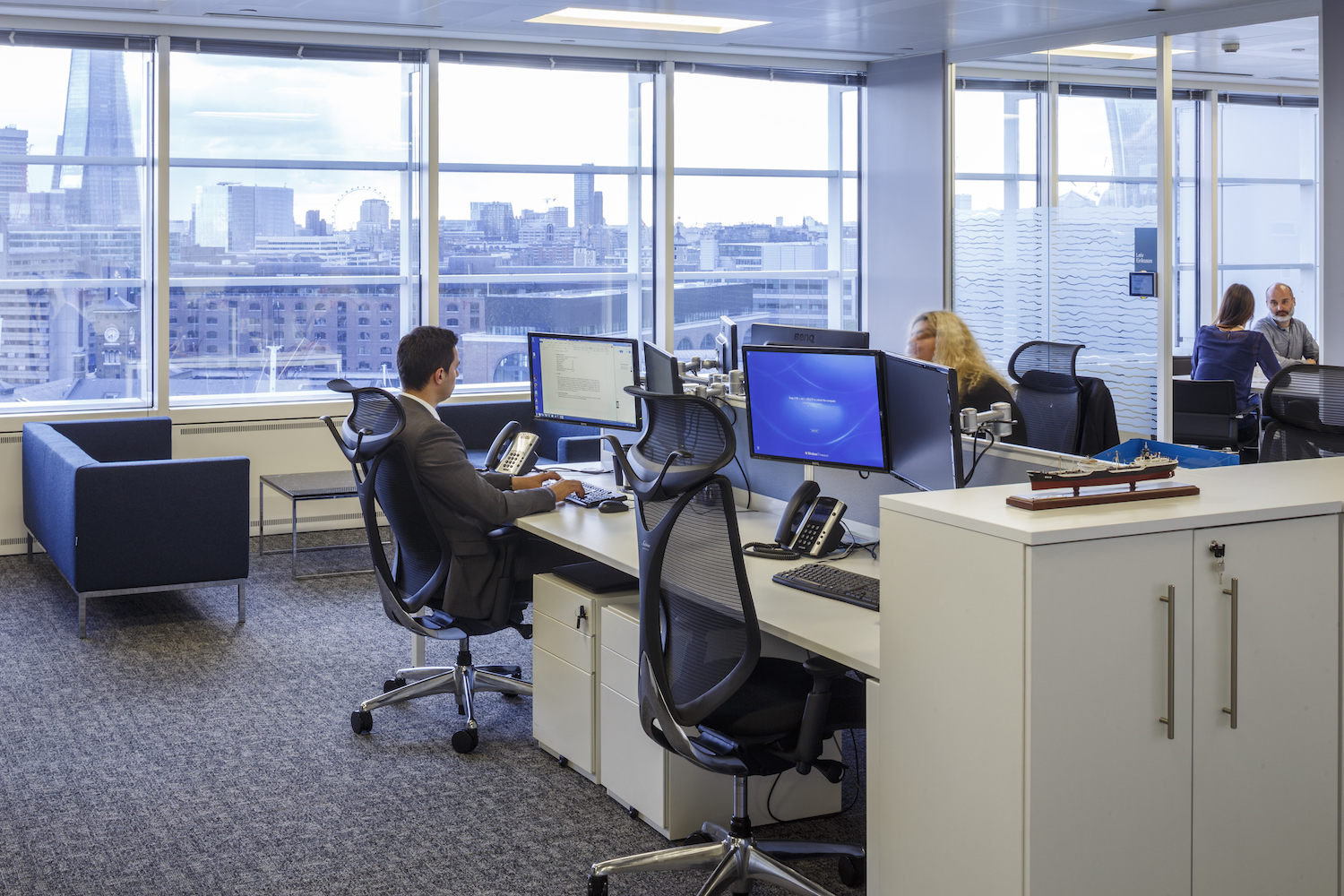Mitsui OSK Lines Office Case Study Image