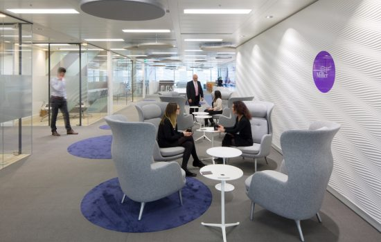office fit out mayfair interactive space
