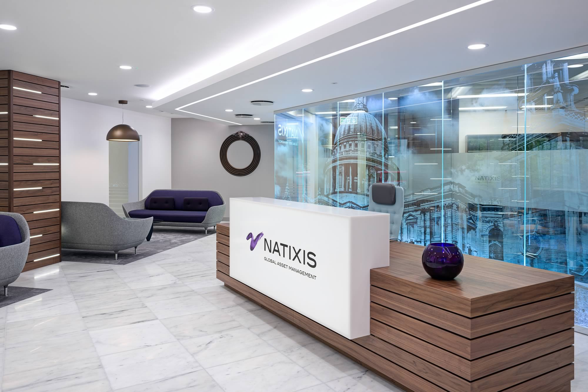 Office design for financial companies interactive space for Design companies london