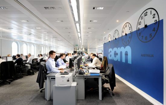 ACM Shipping open plan Case Study Image