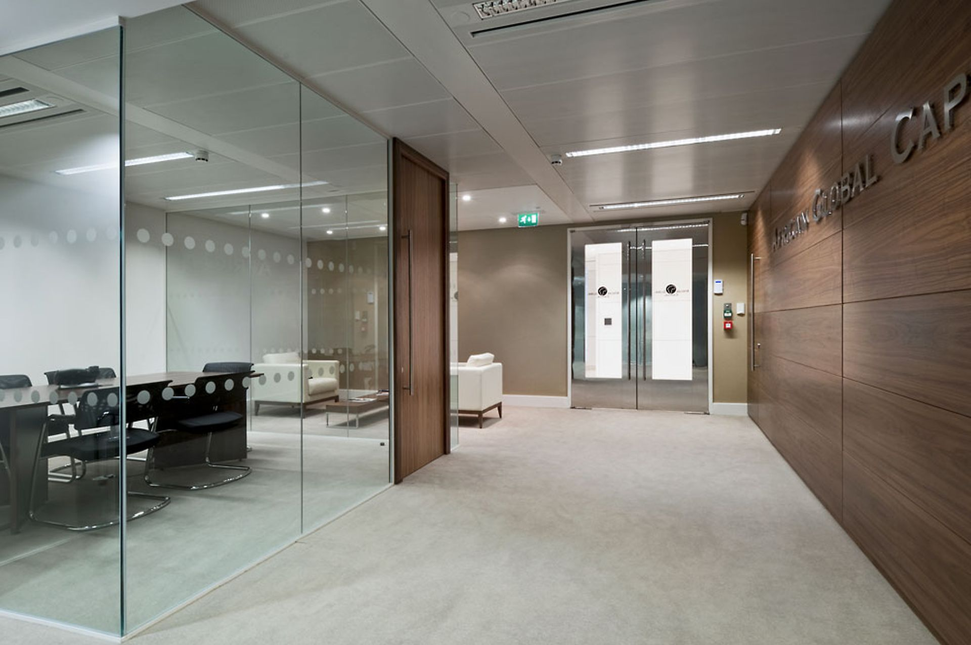 African Global Capital Office Design image