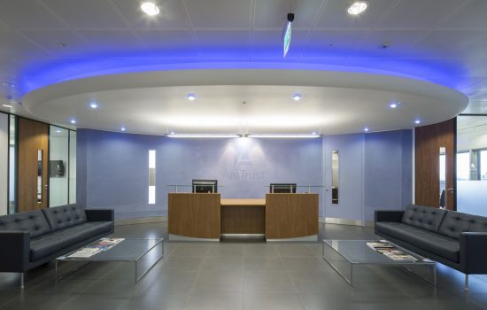 AmTrust Financial reception Case Study Image