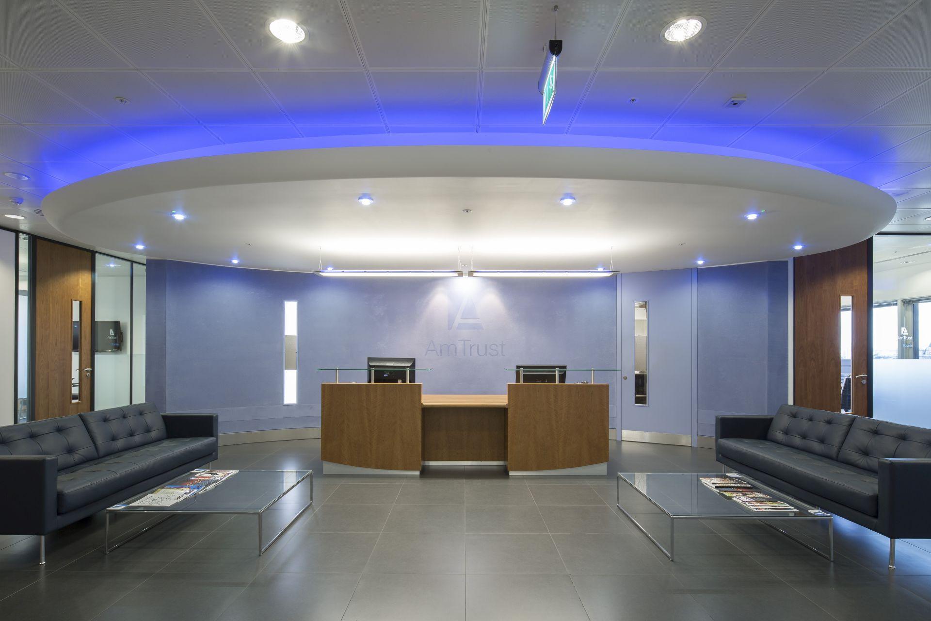 AmTrust Financial reception Case Study Image