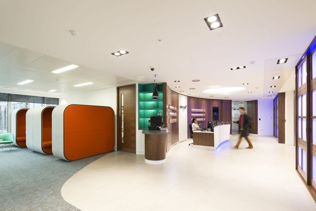 Angel Trains reception Case Study Image