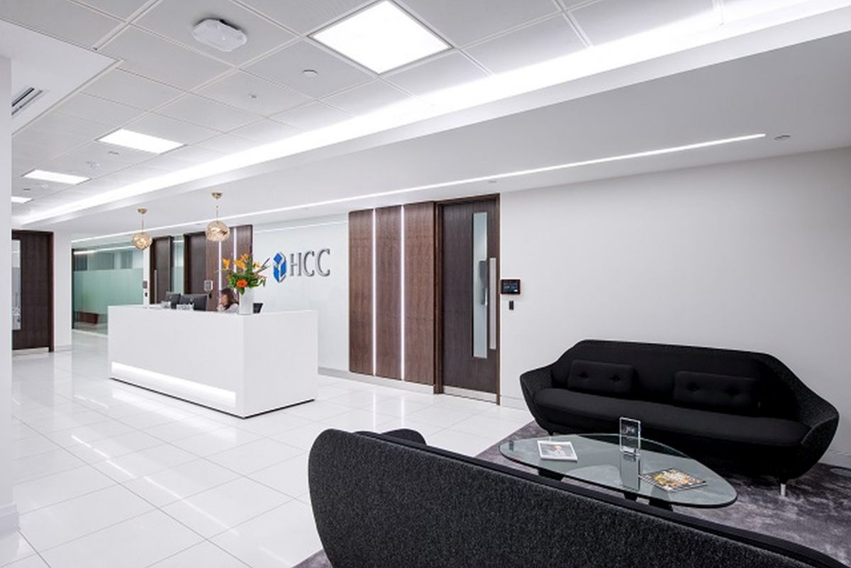 HCC Insurance Holdings Office Reception Design image