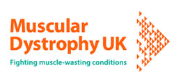 Muscular Dystrophy UK Logo Image