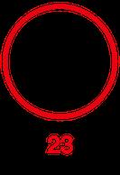 23 Red Logo imagee