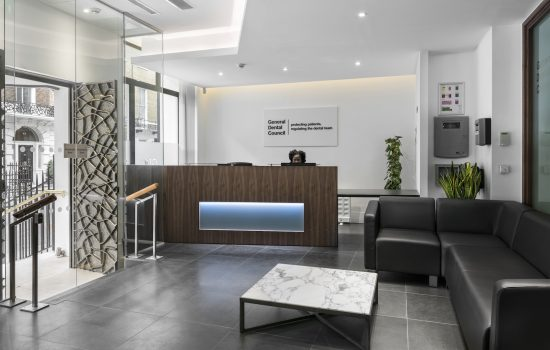 General Dental Council reception Case Study Image