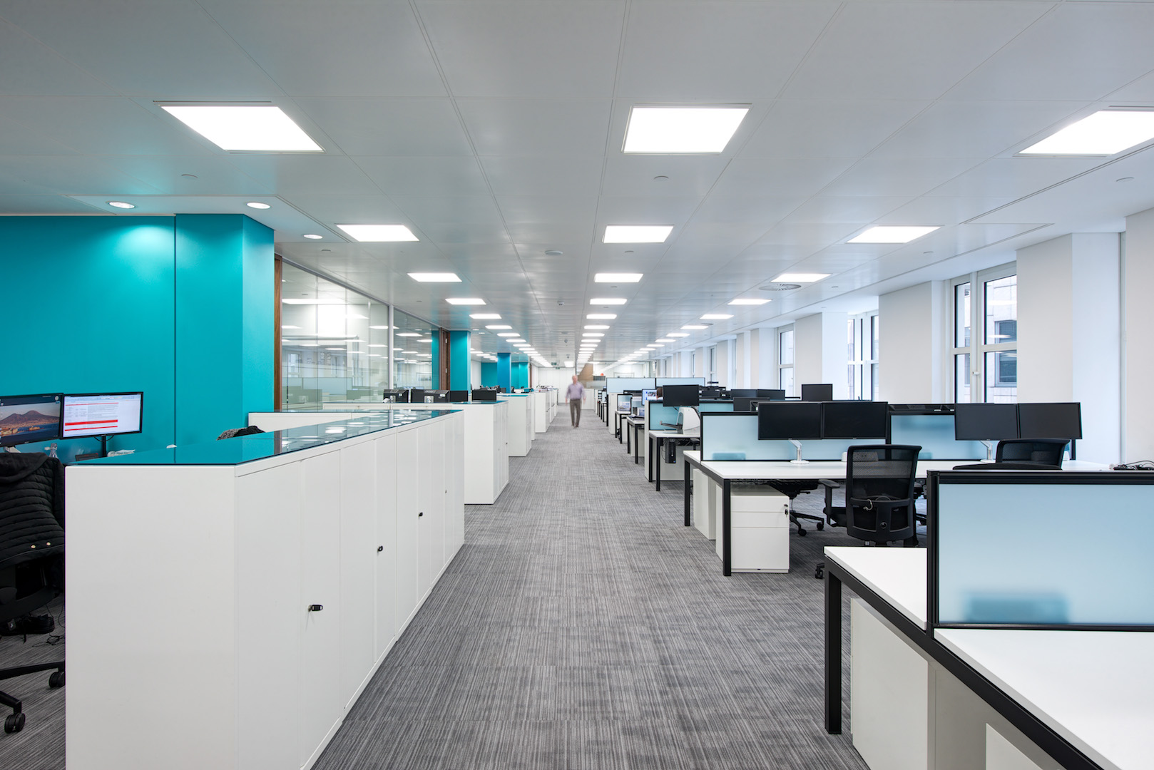 Newline group 39 s office design fit out interactive space for Office design productivity research