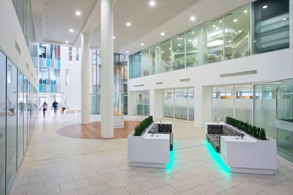 Helix Property lobby Case Study Image
