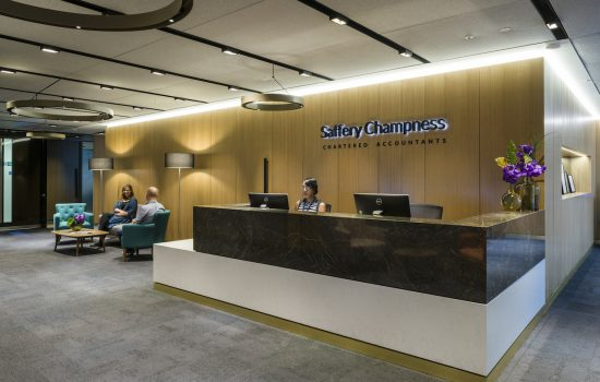Saffery Champness lobby 2 Case Study Image