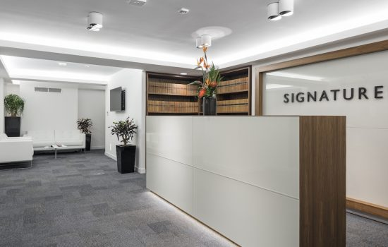Signature Litigation Reception Case Study Image
