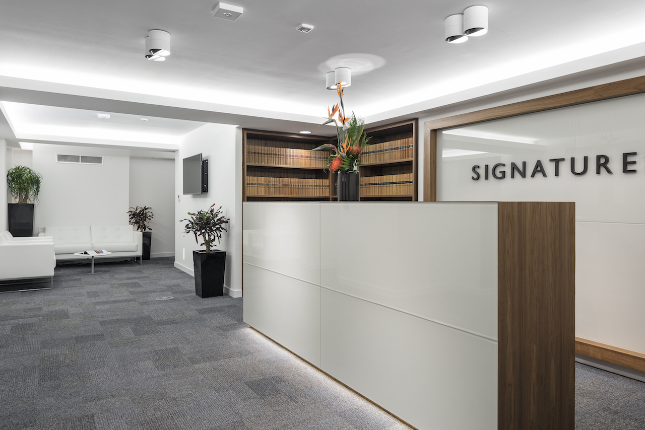 Signature Litigation Reception Case Study Image