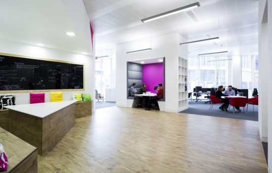 EMO & TRA Creative Office Interior Design Image