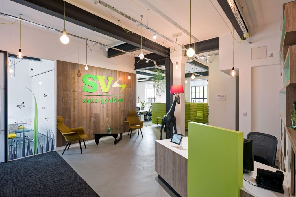 Synergy Vision Reception Case Study Image