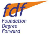 Foundation Degree Forward Logo Image