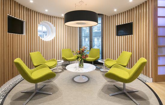 NTT Data UK foyer Case Study Image