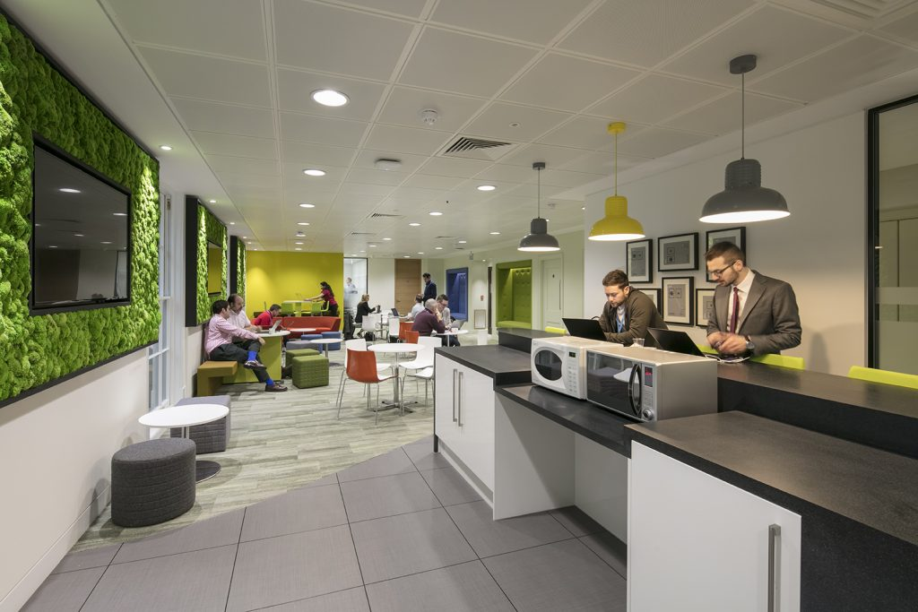NTT Data UK kitchen Case Study Image