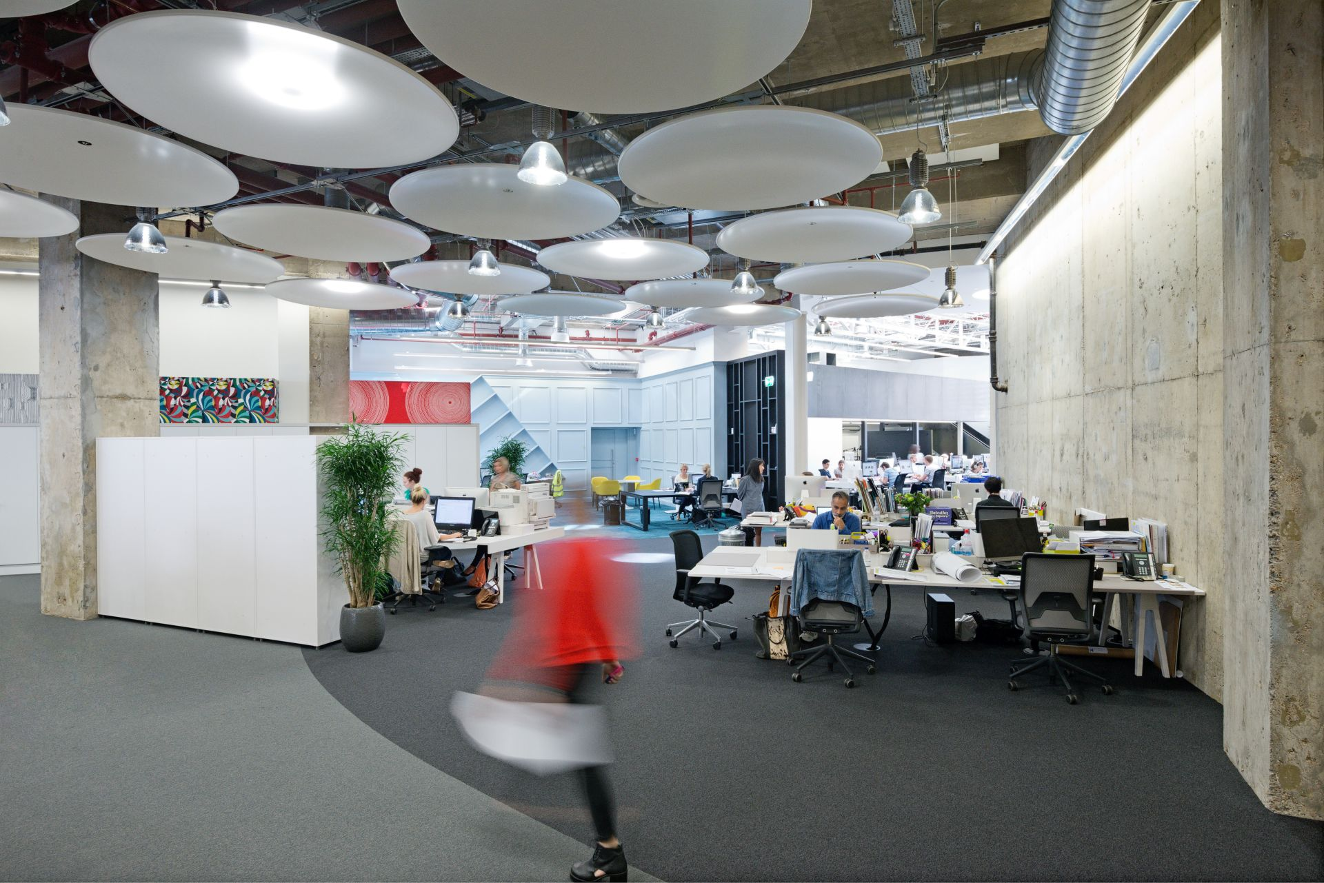 office fit out city of london interactive space